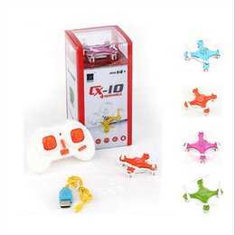 Cheerson CX-10 CX10 Mini Drone 2.4G 4CH 6 Eksen LED RC Quadcopter Oyuncak Helikopter ile LED ışık Oyuncaklar Çocuklar için nereden