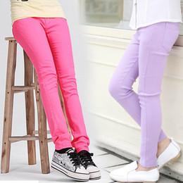 2017 marca ragazze caramelle colore leggings per bambini primavera autunno cotone carino pantaloni bambini scuola moda pantaloni pantaloni per bambini cheap cotton candy brand leggings da ghette di caramella di cotone fornitori