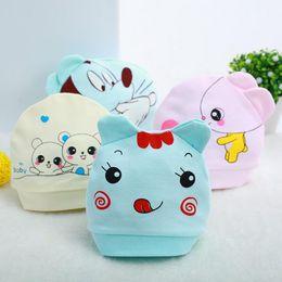 Wholesale Little Bear Hat - 2016 Hot Soft Cotton Baby Hat Lovely Mickey Mouse Little Bear Winter Toddler Infant Newborn Kids Cap Boys Girls Hat Accessories