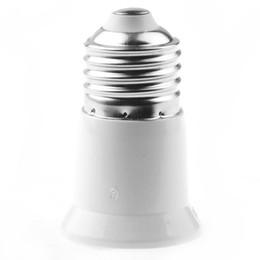 Wholesale Base Socket Adapter - E27 to E27 Lamp Base Holder LED Light Lamp Bulb Adapter Converter Socket Extender Free Shipping