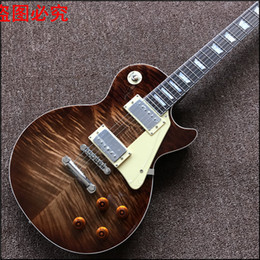 Wholesale Tiger 1959 - New arrive Custom Shop 1959 r9 Tiger Flame top standard Electric Guitar Real photo shows