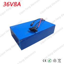 Wholesale Charger For Electric Bicycle - Electric Bicycle 36V Battery 8AH 350W EBike Battery 36V 8AH with 42V 2A charger BMS 36V Lithium Scooter Battery for a bike