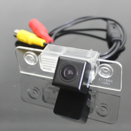 Wholesale Mondeo Rear Camera - Car Rear Camera For Ford Mondeo Back Parking Camera   HD CCD RCA NTST PAL   License Plate Light OEM