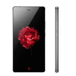 wifi gps ips Promo Codes - Original ZTE Nubia Z9 Max Mobile Phone Snapdragon 615 Octa Core 2GB RAM 16GB ROM 5.5 inch IPS 16.0MP Dual SIM Android 4G LTE Smart Phone