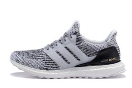 Wholesale Dot Lace Fabric - Casual Shoes 2017 Ultra Boost 3.0 All White Black Men and Women Ultra Boost 3.0 Triple Black Running Shoes