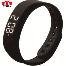 Al por mayor-Sport Band Smart 3D Step Gauge Smart Wristband Candy Calorías Pulsera Reloj Step Meter Time Date Distance Wrist + one band free desde fabricantes