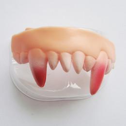 Wholesale Wacky Halloween - 10 kinds Gags Practical Funny Gags Practical Jokes Prank Freak vampir False Teeth Set Halloween April Fool's Day Gift Wacky Toys
