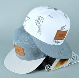 Wholesale Graffiti Snapback Hats - cotton denim hat affixed cloth letters casual fresh graffiti hip hop baseball cap snapback caps hats for woman men bone