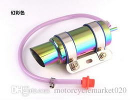 Wholesale Scooter Modified - GY6 Motorcycle Scooter Modified Akrapovic yoshimura Muffler exhaust pipe RACING Exhaust Amazing Sound