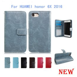 Wholesale Huawei Honor Wallet - Wallet PU Leather Case For HUAWEI MATE 9 pro honor 6X 2016 For Samsung galaxy J1 Mini prime Cover Card Slot Photo Frame