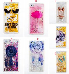 Wholesale Case For Star A3 - Quicksand Star Glitter Soft TPU Case For Huawei P8 P9 Lite Samsung Galaxy 2017 A3 A5 J3 Prime J5 J7 S6 S7 Edge Liquid Owl Butterfly Cover