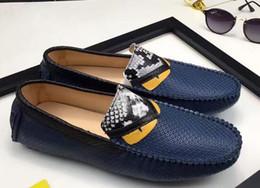 Wholesale Smart Shoes Mans - 2017 Brand New Men's Smart Casual Fashion Shoes , Men's leisure shoes, men's Leather shoes, fashion shoes size: 38-44 Hot Sale Promotional