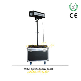 Wholesale WS Upgraded w LED Follow Spot Light With Power W LED Follow Tracker Free Flight Case For Wedding Theater Performance