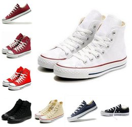 Wholesale Classic Canvas - 2016 HOT New 13 Color All Size 35-45 sports stars chuck Classic Canvas Shoe Sneakers Men's Women's Canvas Shoes
