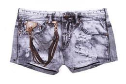 Wholesale Men Jeans Shorts Wholesale - Wholesale-Free shipping, Fashion men jeans box shorts for men, bamboo fiber, boxer