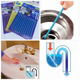 Wholesale Free Bathtub - 10 lot Sani Stick Conduit Bathtub Sewer Decontamination Sticks Cleaning Keep Your Drain Pipes Clear And Odor Free All Year Long YYA104