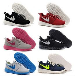 Wholesale Cheap Women Tennis Shoes - Free Shipping Cheap Original 2017 Run Running Shoes Women and Men black white Runings Runing Shoe Athletic Outdoor Sneakers one Size36-45