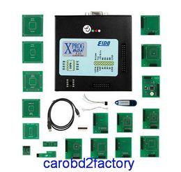 Wholesale Car Prog Free Shipping - Highest Quality XPROG V5.55 ECU Chip Tuning Programmer Auto ECU Programmer Car Diagnostic Tools X-PROG V5.55 with DHL Free Shipping
