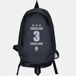 Wholesale Good Day Pack - Giorgio Chiellini backpack Leisure daypack Good star schoolbag Football rucksack Sport school bag Outdoor day pack