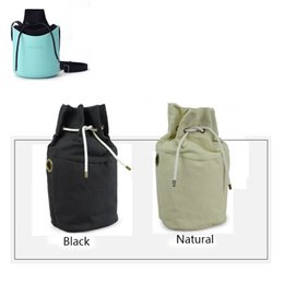 Wholesale Mini Bucket Color - Wholesale-women's bags inner insert canvas inner pocket lining solid color bags fullspot o basket bag bucket bag obag