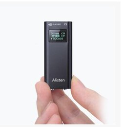 Wholesale Atacado Hidden Voice Recorder Gravador de Voz Hd Digital gb Mini Wav Para Áudio Usb Flash Disk Mp3 Distância Da Música Acústica Com Tela
