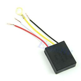 Partes de la mesa online-Wholesale-5pcs / lot Table light Parts On / Off 1 Way sensor de control táctil bulbo interruptor de la lámpara