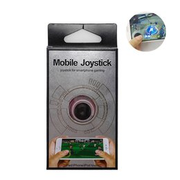 Wholesale Game Stick For Tablets - 2017 Hot Sale Easy Take Untra-thin Mobile Joystick Game Stick Controller For Touch Screen Phone Tablet With retail box