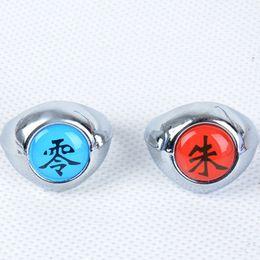 Wholesale Cosplay Akatsuki Set - Fashion Jewelry Rings HOT Anime Naruto Rings 10pcs Akatsuki Cosplay Member's Full Set Sasori Itachi Hidan Deidara Costume Accessories