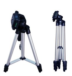 Wholesale Digital Cameras Tripod - 2017 Camera Tripods Portable Professional Aluminum Telescopic Camera Tripod Stand Holder For Smart Phone For iPhone For Samsung