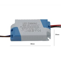 Wholesale Dimmable Constant Current - Dimmable LED Driver AC110V-220V DC 45V-84V 300mA 15W 16W 17W 18W 19W 20W 21W 22W 23W 24W Constant Current For LED Lamp