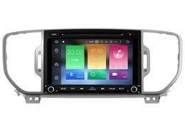 Wholesale Gps For Kia Sportage - Navirider 2GB ram 32gb ROM octa core Android 6.0 Car DVD player GPS for KIA SPORTAGE r 2016-2017 stereo head units DVR RADIO 3G GPS NAVI