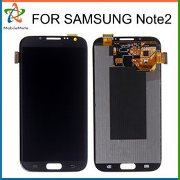 Wholesale Display Galaxy Note Ii - Grade AAA LCD Replacement For Samsung Galaxy Note 2 II N7100 N7102 N7108 N719 N7105 L900 Touch Screen Digitizer Display Free DHL Shipping
