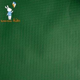 Wholesale Dark Tent - Dark Green Waterproof PU Coating 100% Nylon Fabric Strong Ripstop Nylon Kite Tent Fabric