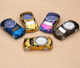 Wholesale Mini Keychain Lighters - USB Rechargeable Mini Lighter Metal Windproof Ci-garette Lighters Flameless novelty Electric Lighters Multicolor Eletronic USB Car Keychain