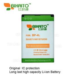 Wholesale Phone E72 - BP-4L Mobile Phone 3.7V 1380mah Battery For Nokia E63 E71 N97 E72 E95