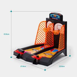 Wholesale Toys Basketball Board - two-finger shooting board game Children's basketball interactive puzzle toy Shooting game Hand-eye coordination Early education wisdom toy