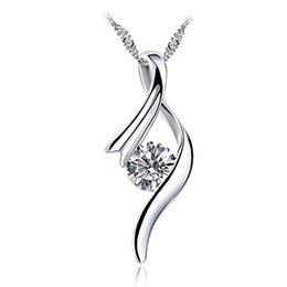 Wholesale Design Fashion Jewelery - Jewelery Silver Pendant Exquisite design for necklace women with shiny zirconia Neoglory 2017 Brand New Fashion