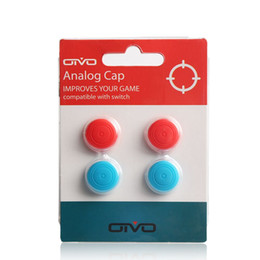 4 in 1 TPU Koruyucu silikon thumbstick thumb kapak sapları perakende paketi ile Nintendo Anahtarı için Thumbstick Cap nereden sallamak kafa arabası tedarikçiler