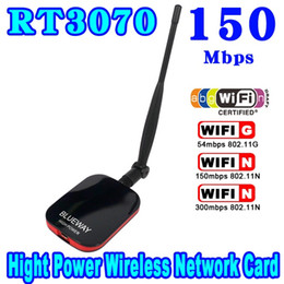 Wholesale Wifi Mini Wireless Fast - Wholesale- Mini N9000 Wireless USB WiFi Adapter 150Mbps Long Range Network Internet Card Ralink High Power Speed 2000MW + CD Beini