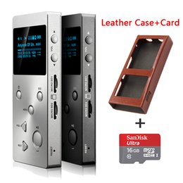 Wholesale Voice Recorder Professional - Wholesale- 2016 New XDUOO X3 Professional lossless music player hifi digital mp3 support DSD APE FLAC WAVWMA OGG MP3 dual SD slot+TF Car