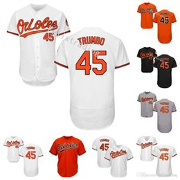Wholesale Adam Jones Jersey - #45 Mark Trumbo Jersey Manny Machado Cal Ripken Adam Jones Wade Miley Jonathan Schoop Trey Mancini Chris Davis 2017 Baltimore Orioles Jersey