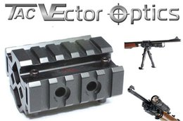 Wholesale Mount Vector Optics - Vector Optics Universal AK Tri-Rails Barrel Weaver Mount with Laser Clamping Feature Fit AK 47 74 Series