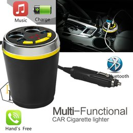 Wholesale Multi Charger Radio - Car Cigarette Lighter MP3 Charger Socket with LED Screen Car Wireless Vehicle Multi-functional Power Adapter Compatible with MP3 Smartphone