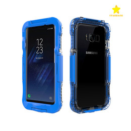 Wholesale Heavy Duty Pouch - For Galaxy S8 360 Full Cover Waterproof Case Shockproof Hybrid Heavy Duty Phone Cases For Samsung S8 S8 plus