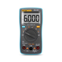 Wholesale Ac Dc Electrical - ZOTEK ZT101 Digital Multimeter 6000 counts Back light AC DC Ammeter Voltmeter Ohm Frequency Diode Temperature