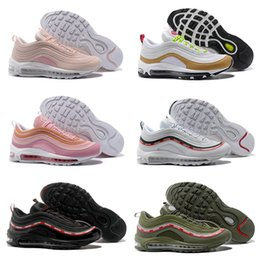 Wholesale Girls Sports Shoes Size 36 - New Arrivel Drop Shipping Wholesale Famous Air Sport 97 Undefeated Womens Girls Athletic Sneakers Sports Running Shoes Size 36-39