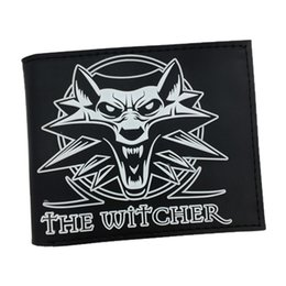 Wholesale Pvc Price Holder - Wholesale- Free Shipping PVC Wallet The Witcher 3 Wild Hunt Short Purse With Card Holder Dollar Price