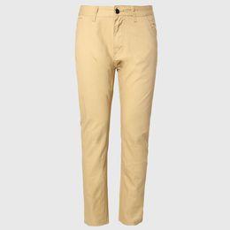 Wholesale Khaki Korean Pants - Wholesale-Men Thin Chino Pants Male Long Straight Trousers Cotton Casual Fit Bottoms Korean Pattern England Style Khaki Black
