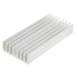 Wholesale Cool Fins - Wholesale- GTFS-130mm x 56mm x 20mm Heatsink Heat Diffuse Aluminium Cooling Fin