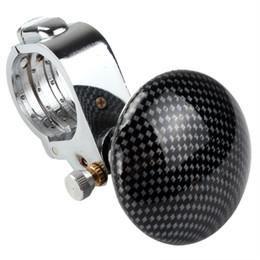 Wholesale Pvc Steering Wheel - Car Steering Wheel Spinner Knob Power Ball Fiber Multifunction with PVC Band CDE_405